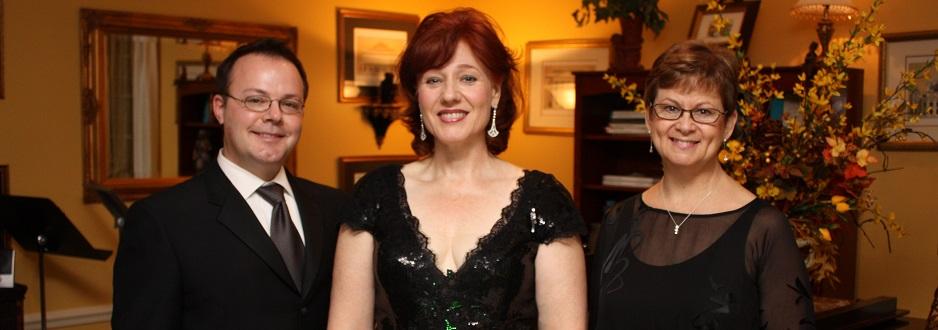 Home recital 2011 with Joey Martin and Adah Toland-Jones