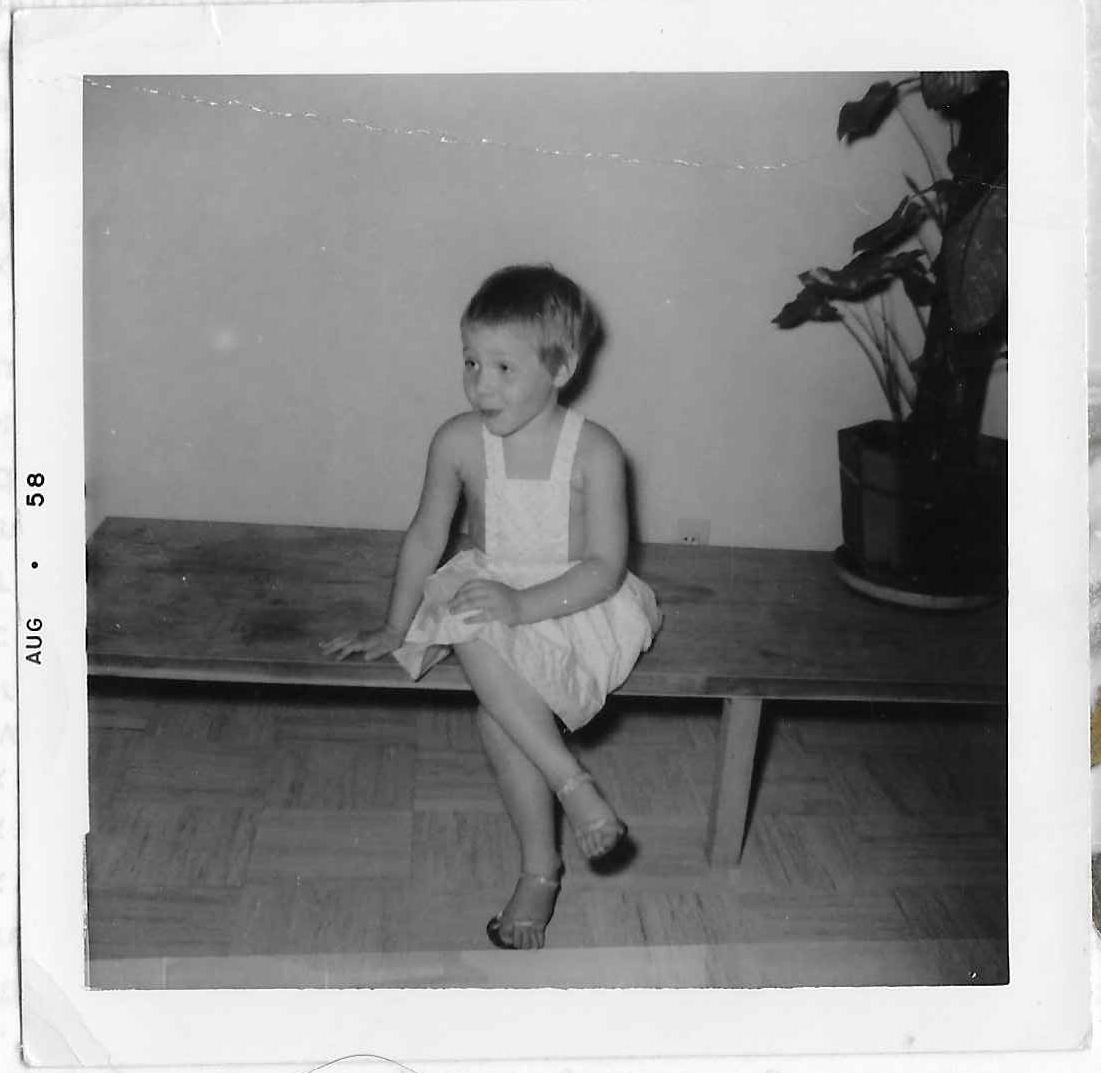 3 years old in high heals