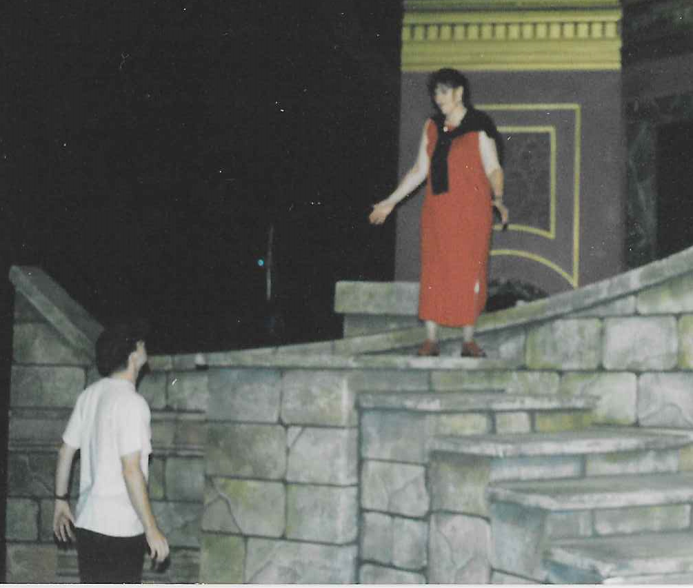 Rehearsing the jump